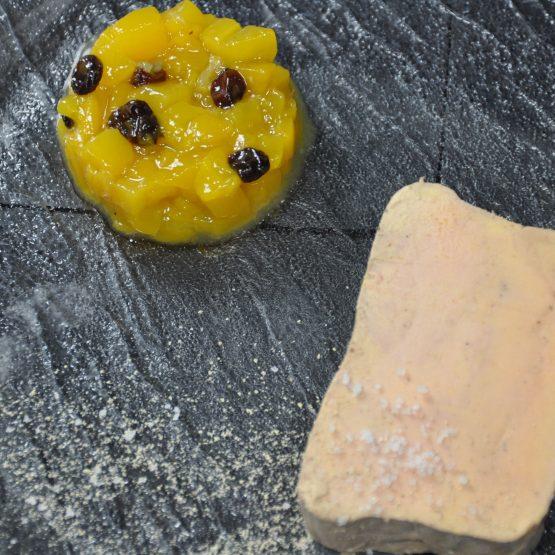 foie  gras plat