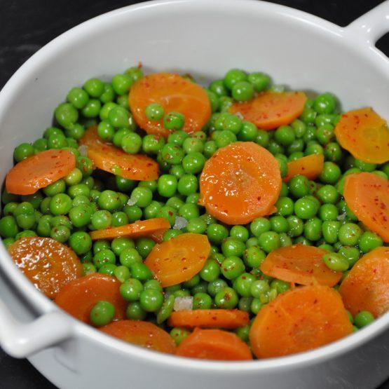 petits pois carotte plat