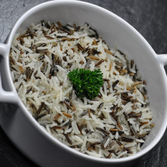 riz sauvage plat