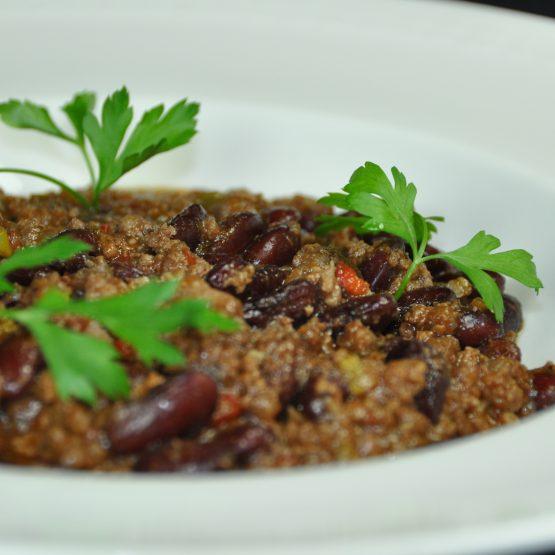 chili con carne plat