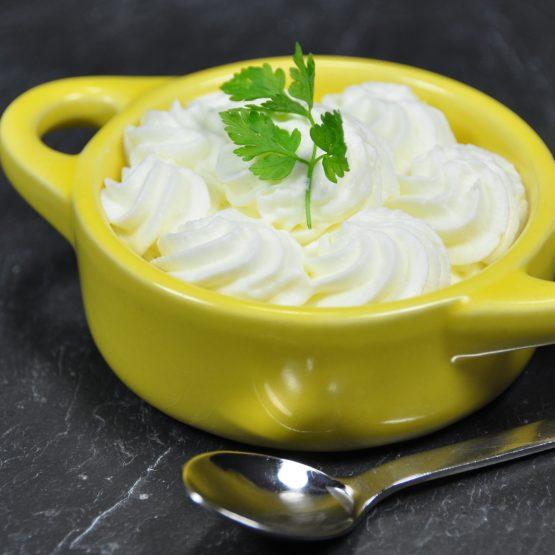 crème de raifort plat