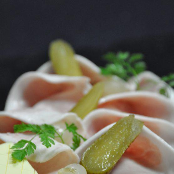 jambon cuit du pays plat