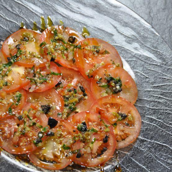 tomate huile vierge