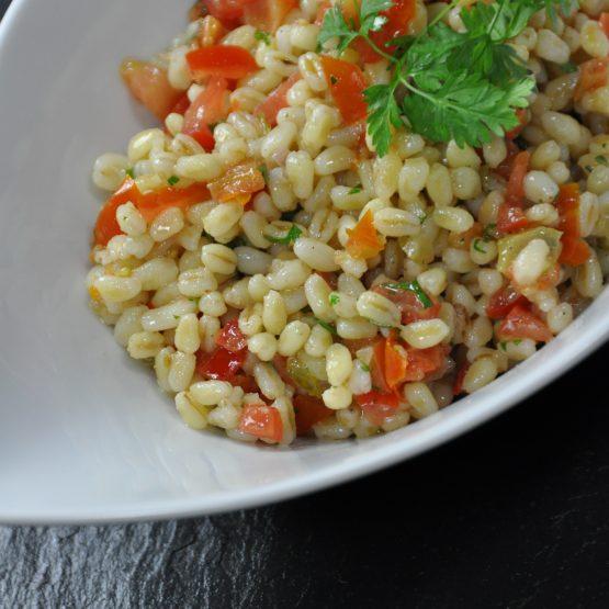 salade d'ebly plat