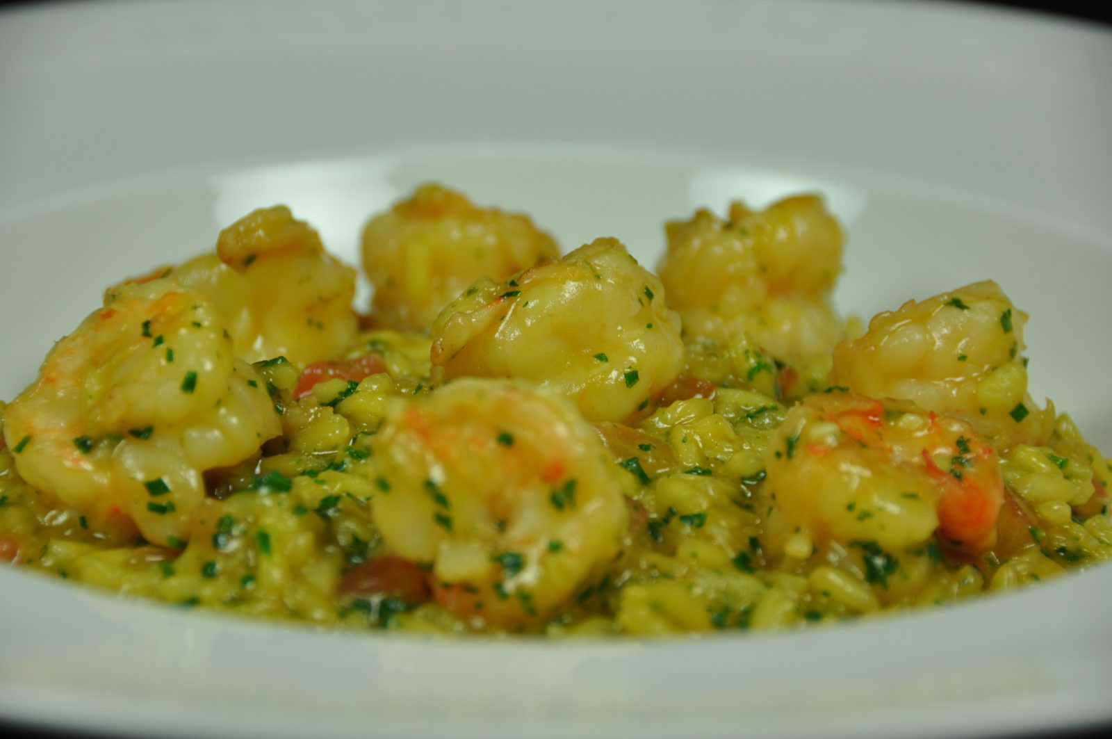 Risotto milanais aux scampi easycooking - Risotto noel ...
