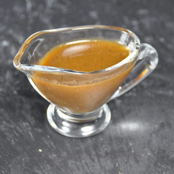 vinaigrette balsamique plat