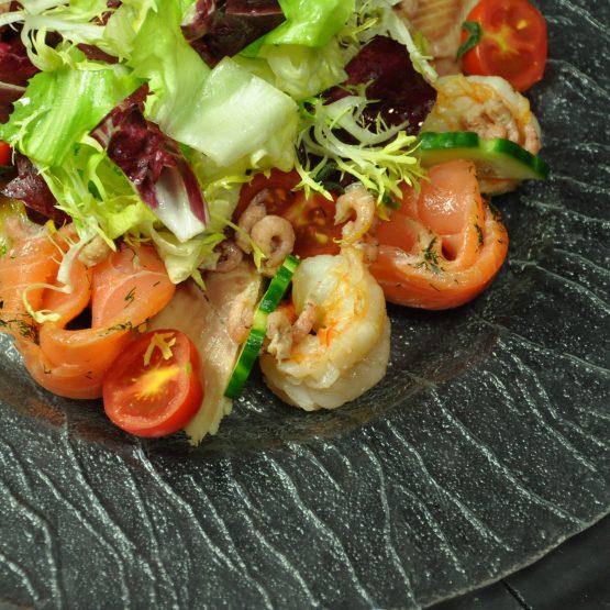salade pécheur plat