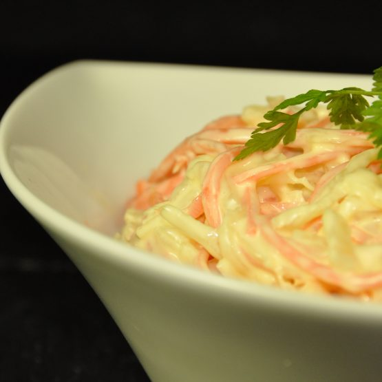 salade coeslaw plat