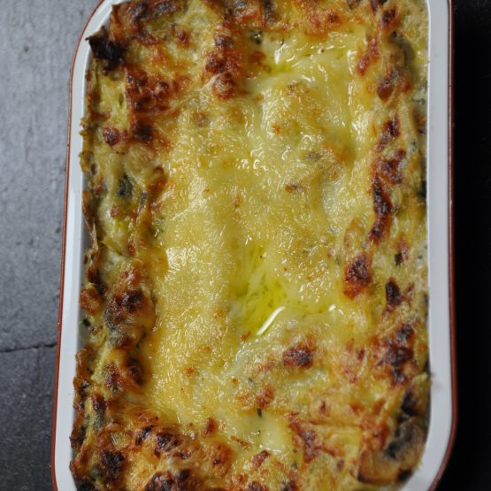 lasagne poireaux chmapi